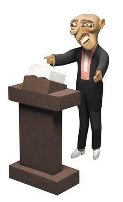 Preacher at Lecturn