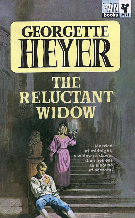 Pan-M71 Heyer The Reluctant Widow