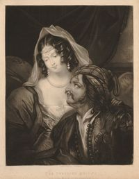 Corsairs Bride - Samuel Hollyer - © The Trustees of the British Museum