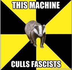 This Machine Culls Fascists