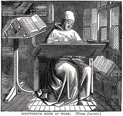 639px-Scriptorium-monk-at-work