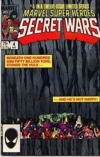 Secret Wars 4