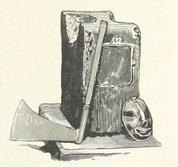 Axe from Rambles Around London Town - 1884 - via British Library
