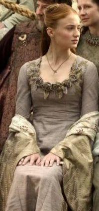Sansa flowers