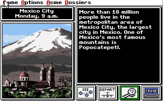 Extended Memory: Where In The World Is Carmen Sandiego?