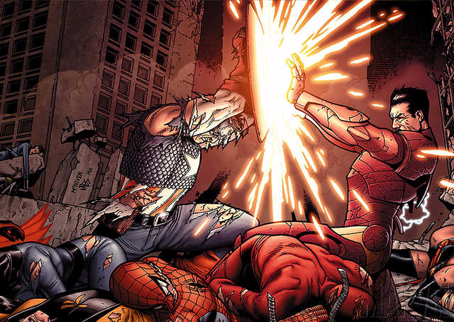 Civil War (Bryan Hitch)