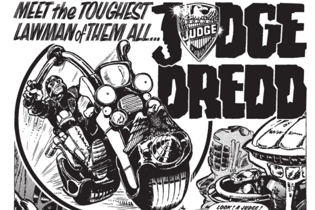 2000AD: Why is Judge Dredd so damn good anyway?