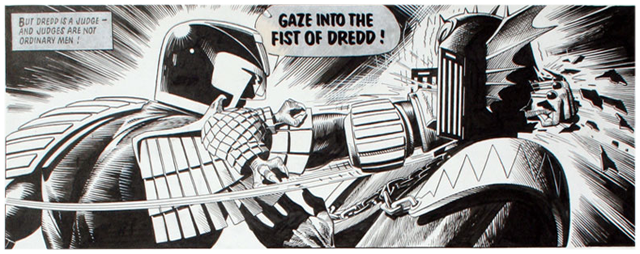 Fist of DREDD!