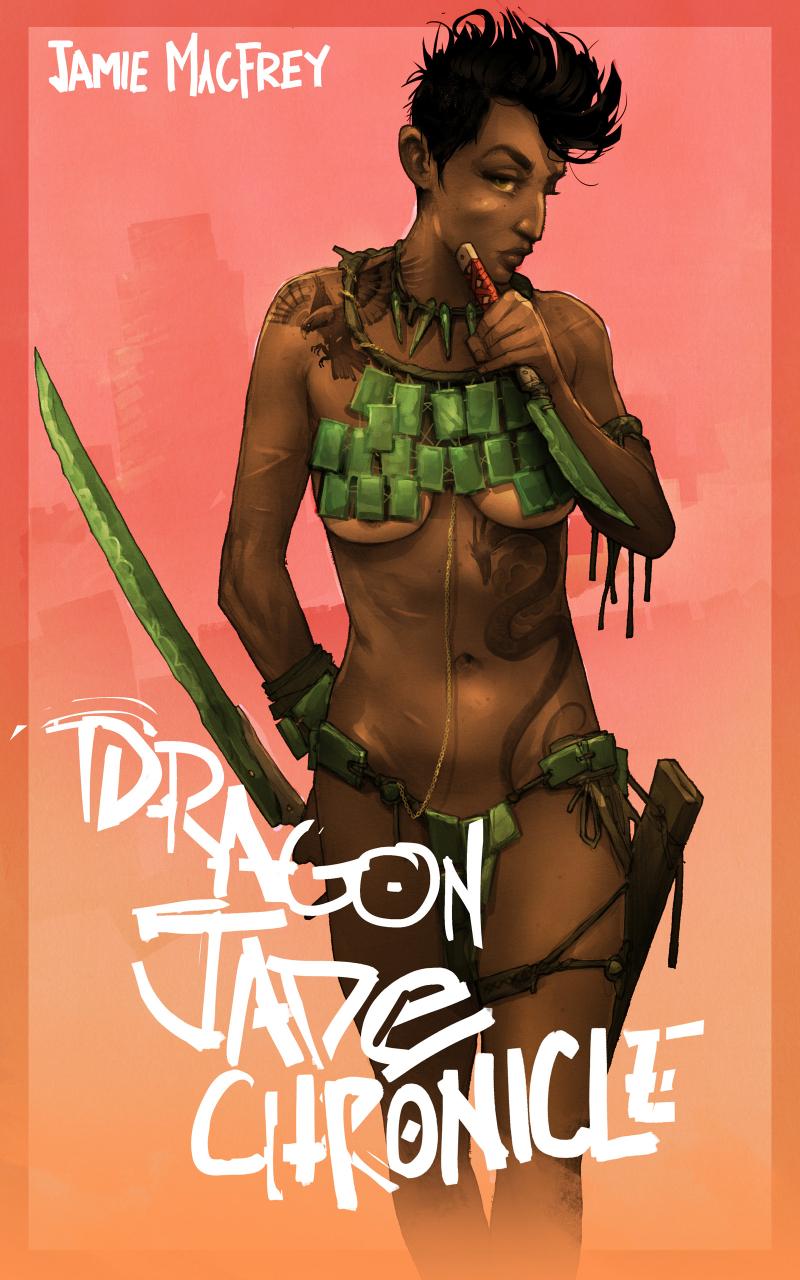 Dragon jade chronicle (shirt)