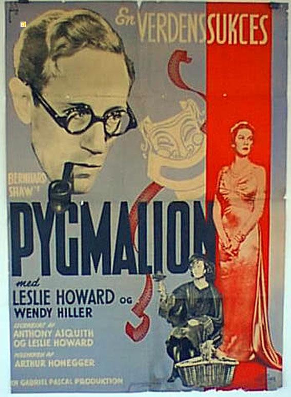 Pygmalion poster