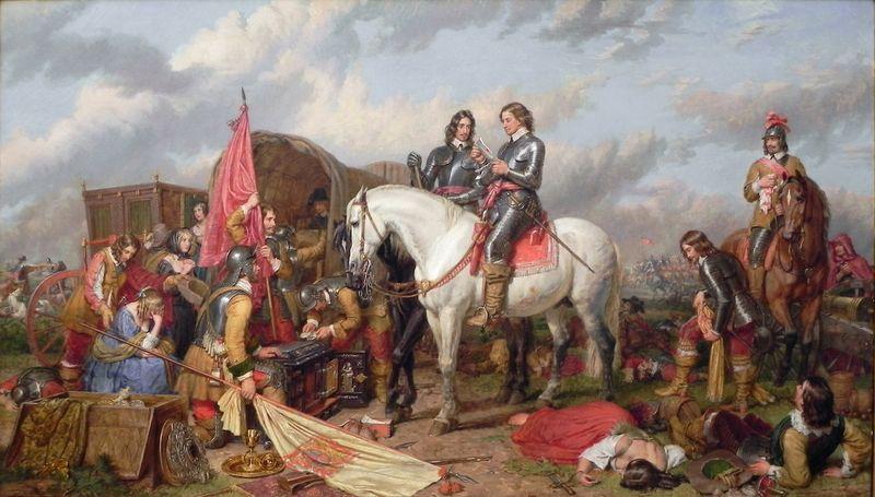 Charles_Landseer_Cromwell_Battle_of_Naseby