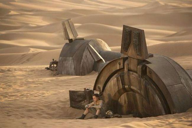 Rey hanging in a Walker