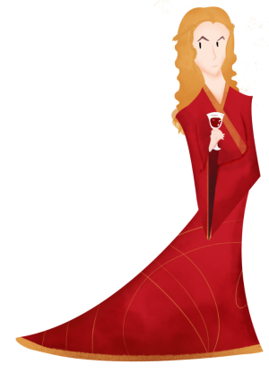 Cersei Lannister by Caspian Whistler