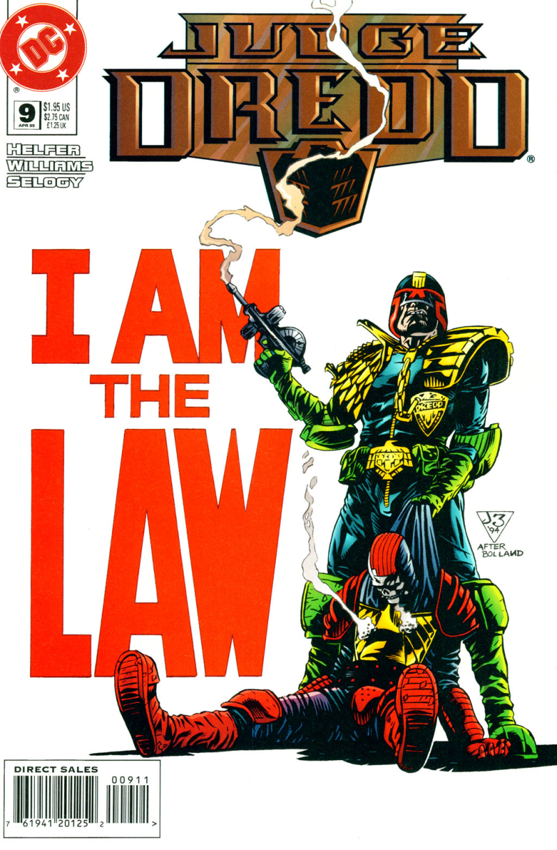 Judge Dredd (DC) #009 Pg 00 Cover