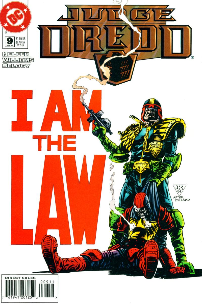 Judge Dredd (DC) #009 Pg 00 Cover