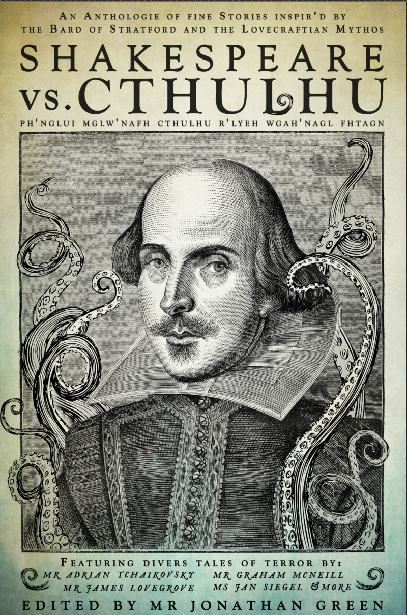 Shakespeare Vs Cthulhu - the cover 07.03.16