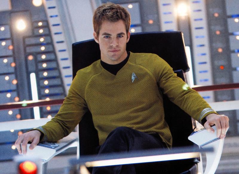 Chris pine captain kirk